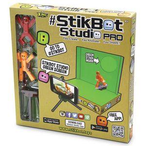 Zing zanimation stikbots Toys beige homme pour animation vidéos