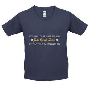 T-SHIRT Dressdown T-shirt  Je travaille dur pour que mon j