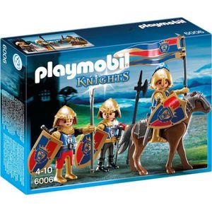 UNIVERS MINIATURE PLAYMOBIL 6006 - Knights - Chevaliers du Lion Impé