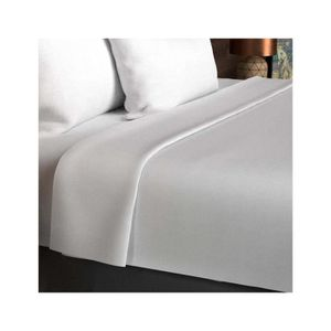 drap plat 1 personne blanc achat vente drap plat 1. Black Bedroom Furniture Sets. Home Design Ideas