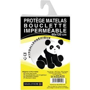 PROTÈGE MATELAS  SOLEIL D'OCRE Protège-matelas bouclette bébé 60x12