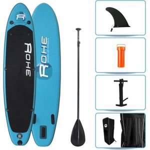 STAND UP PADDLE ROHE Pack Paddle Gonflable Pacific 10'6(320cm) x 3