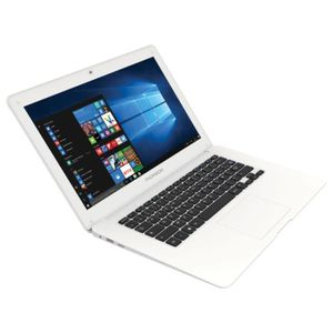 ORDINATEUR PORTABLE THOMSON NoteBook W11 Blanc 14p Atom Z3735F 32GO 2G