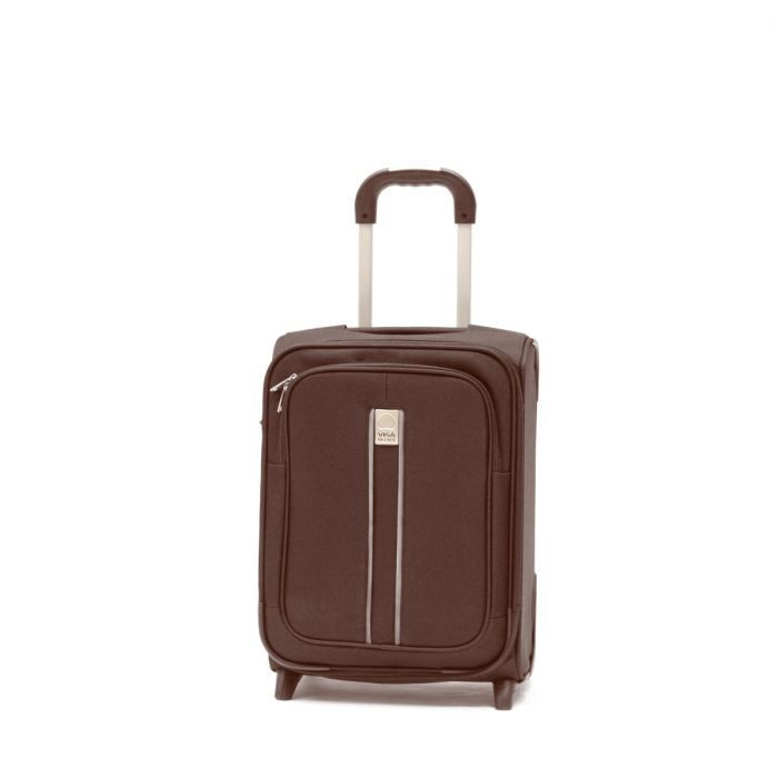 visa delsey valise trolley 2 roues 48 cm linea chocolat. Black Bedroom Furniture Sets. Home Design Ideas