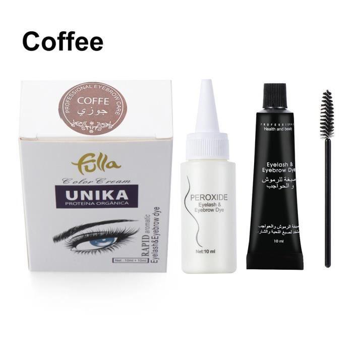 Crème de teinture pour sourcils, crème durable, imperméable, Mascara, rehausseur de cils, stylo de tatouage, couverture [B763D71]
