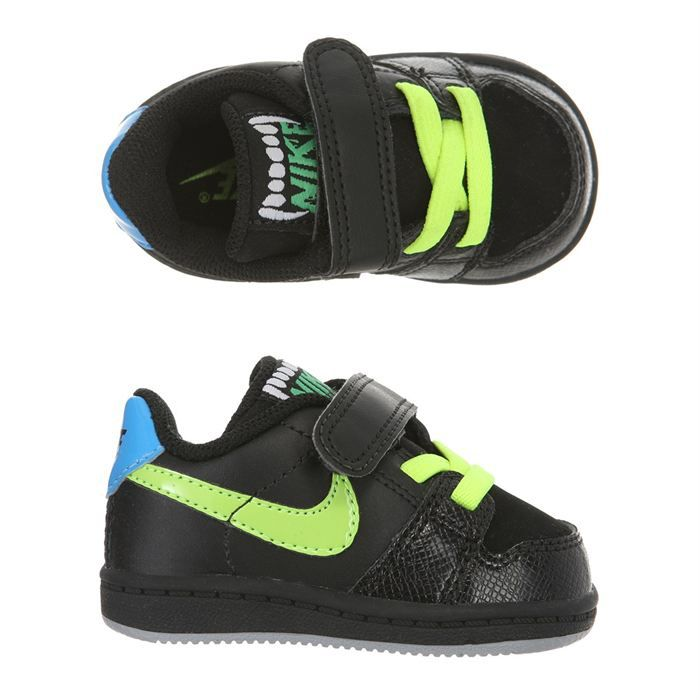 nike baskets backboard b b noir bleu et jaune achat. Black Bedroom Furniture Sets. Home Design Ideas