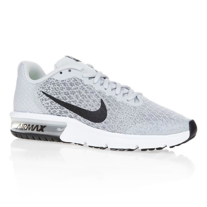 best website 30970 58de4 NIKE Baskets Air Max Sequent 2 - Enfant garçon - Blanc
