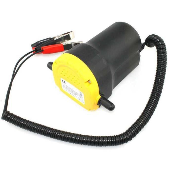 Pompe vidange d'huile moteur par aspiration 12V 60W