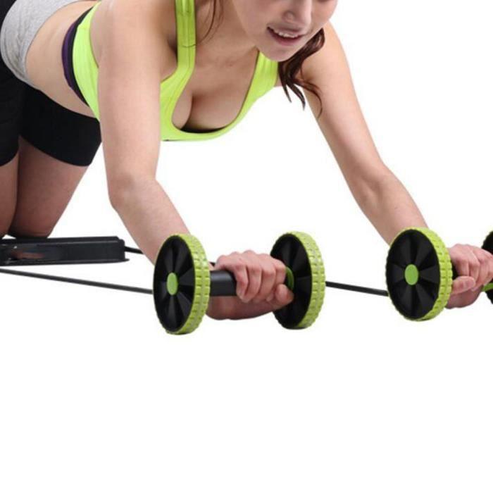 ELASTIQUE DE RÉSISTANCE - Dispositif Abdominale Pour Fitness à la Maison