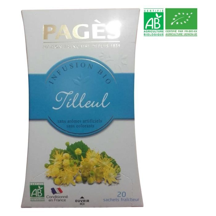 PAGES Infusion Verveine Bio