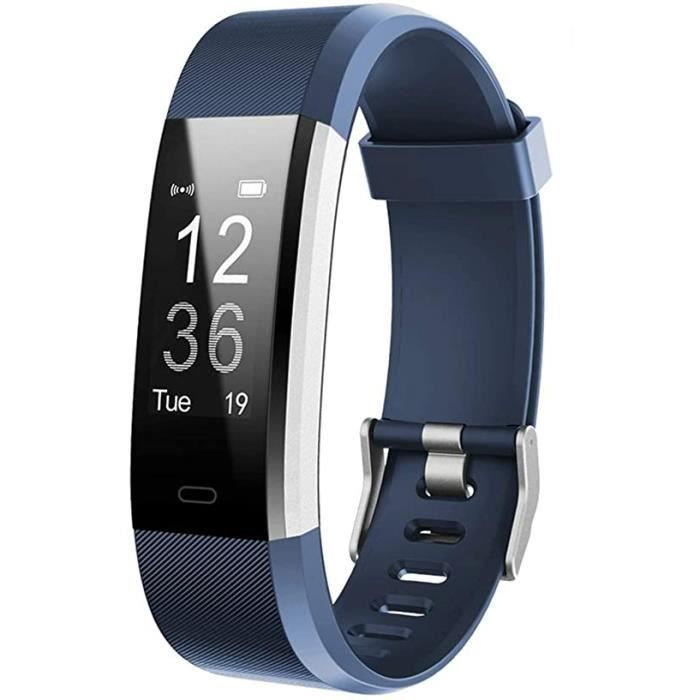 Lintelek Fitness Tracker with Heart Rate Monitor, Activity Tracker with Connected GPS, IP67 Waterproof Smart Fitness Band with Step