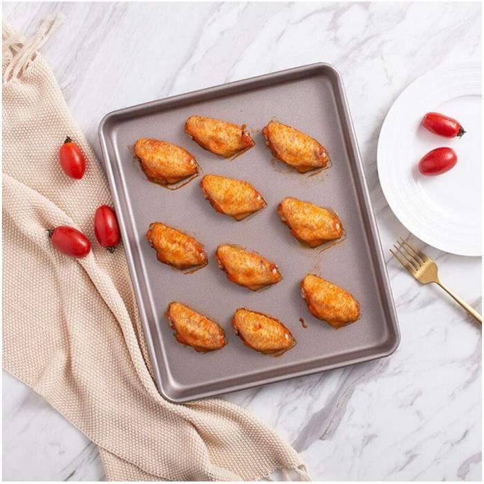 CAKE oule Rectangulaire de Cuisson Plateau antiadheacutesif Cookie Pan de Cuisson du Pain pacirctisserie Biscuit Four agrave p1017