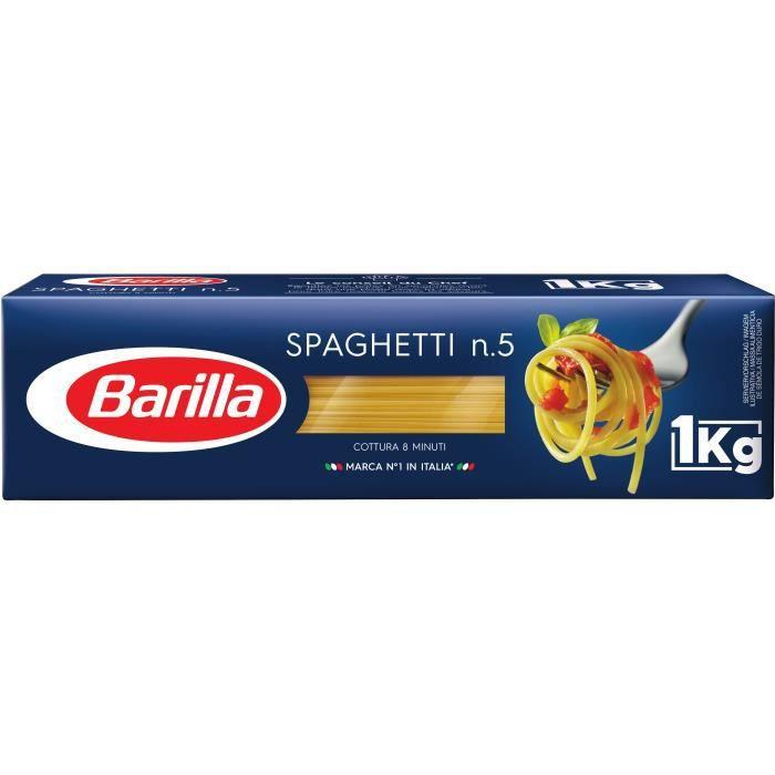 Spaghetti n°5 1kg Barilla