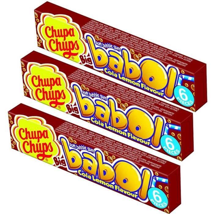 Chupa Chups Big Babol Cola Citron