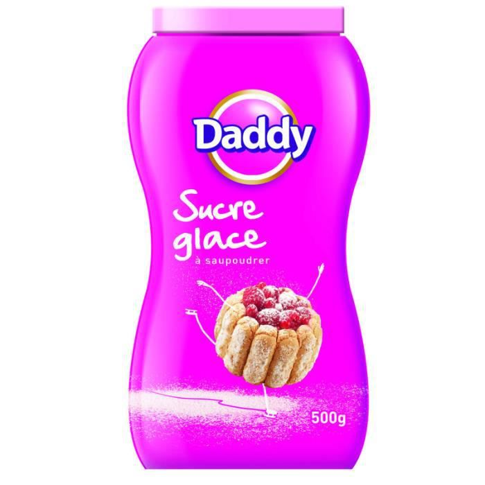 Sucre glace 500 g Daddy