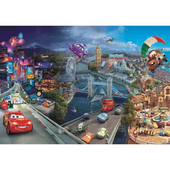 Papier peint Cars World Disney 368X254 CM