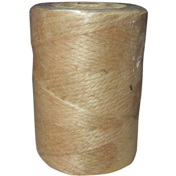 Ficelle jute 0.6/3 rolls de 1kg