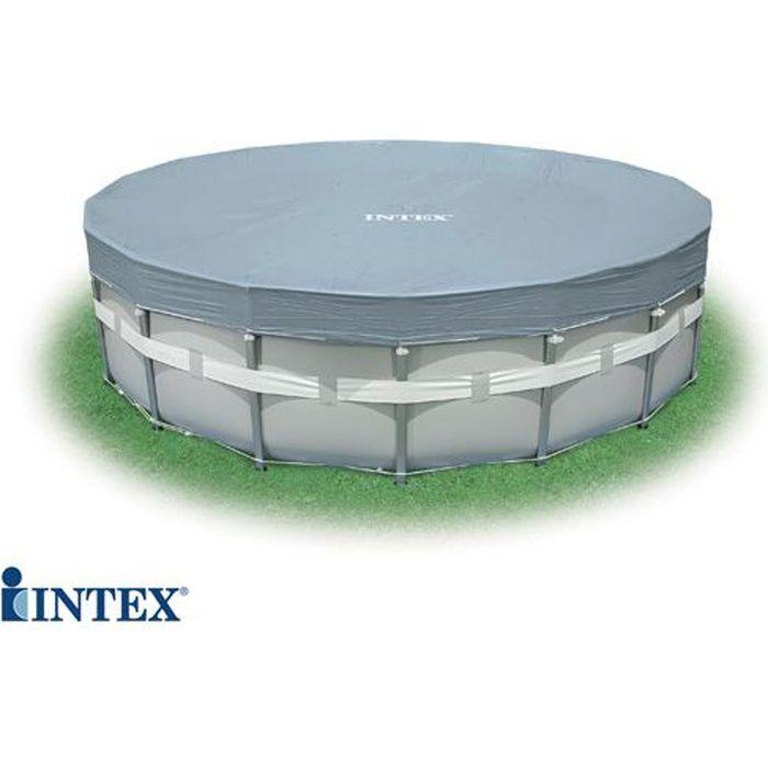 Bâche Deluxe tubulaire INTEX Ø 5,49 m