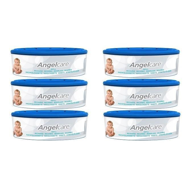 ANGELCARE Recharges Rondes Compatibles : Classic, Mini, Comfort, Deluxe x6
