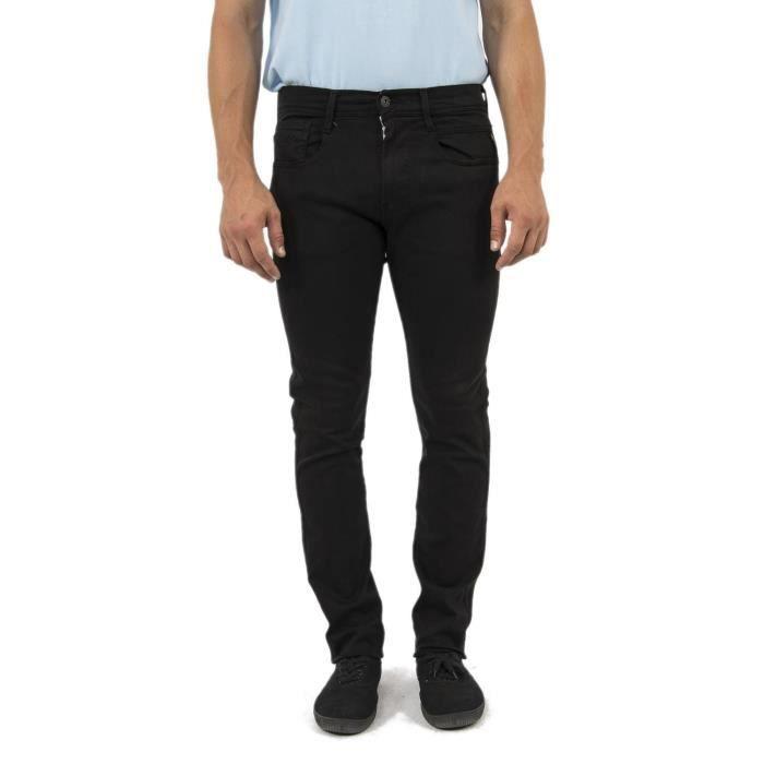 jeans replay anbass slim noir
