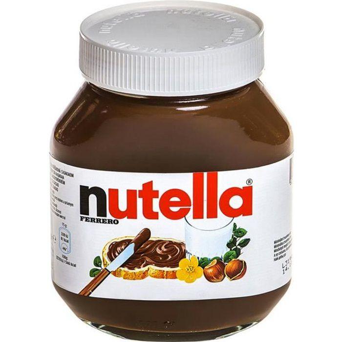 FERRERO Pâte à tartiner Nutella - 750 g
