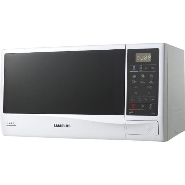 Samsung GE732K Four micro-ondes grill pose libre 20 litres 750 Watt blanc