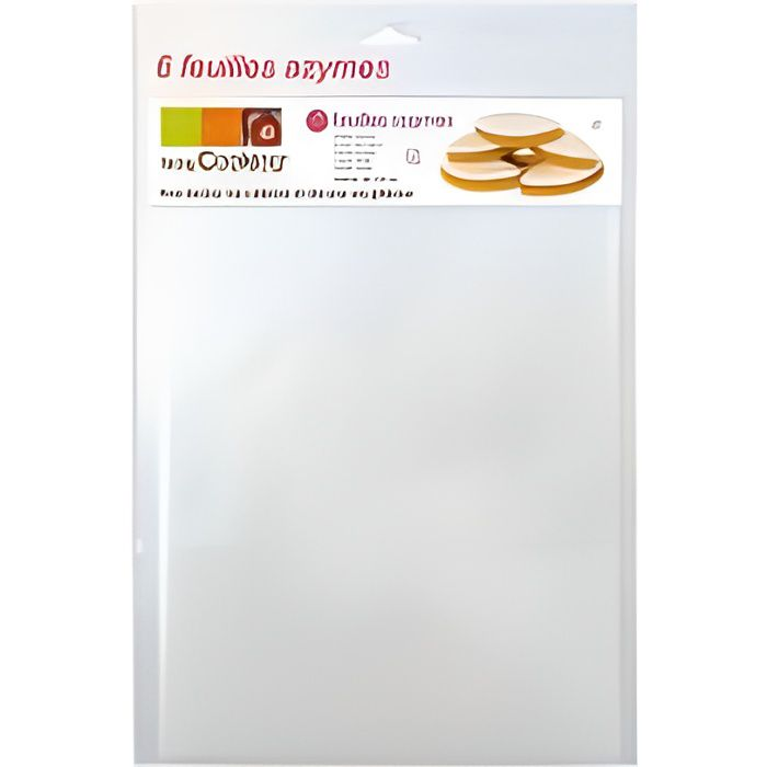 SCRAPCOOKING feuilles azyme - Ref7300 -