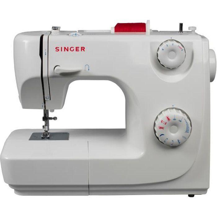 SINGER Machine à coudre 8280 Standard - 16 points - 6 griffes - Blanc