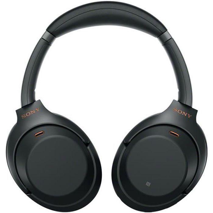 Sony WH-1000XM3 Casque Bluetooth Sans Fil-Noir