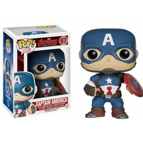 Figurine POP Marvel Age of Ultron Captain America