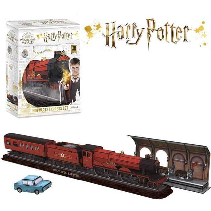 World Brands - Harry Potter Puzzle 3d, Train Poudlard Express, Construction Enfant Et Adulte, Decoration Chambre, Cadeau