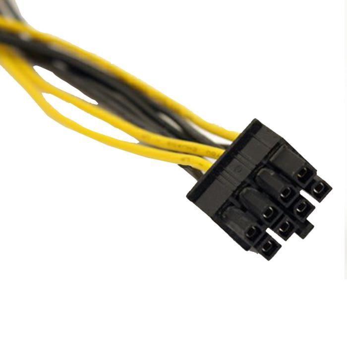Carte mère-électricité extension 4 pôle p4 Connecteur à 4 pôle p4 femelle 0,36 M