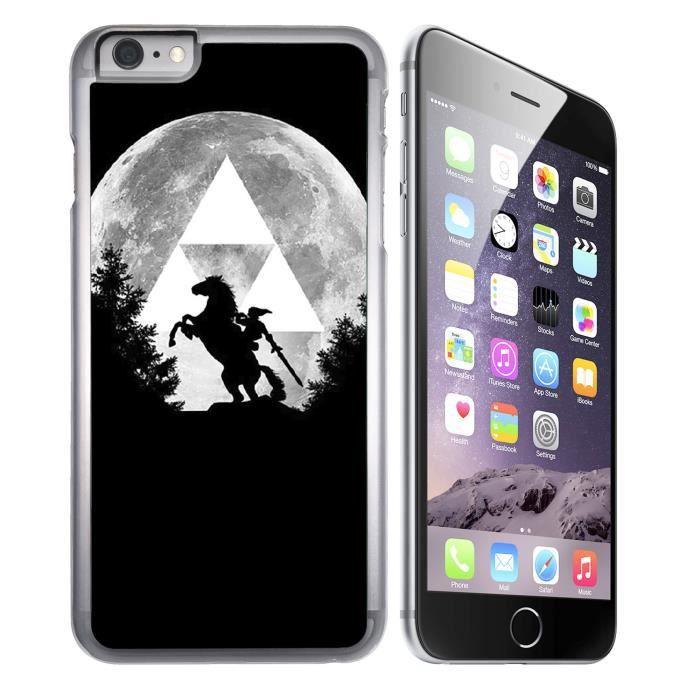 Coque iPhone 7 Zelda Lune Triforce