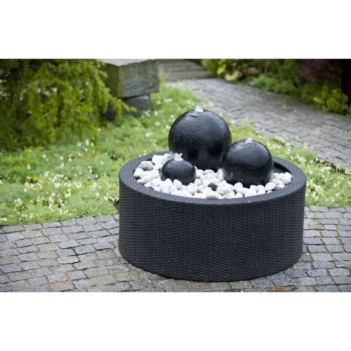 decowall wicker pour fontaine de jardin 150 l achat. Black Bedroom Furniture Sets. Home Design Ideas
