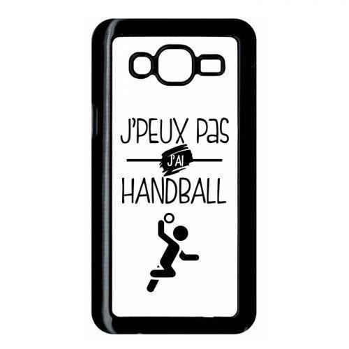 Coque j'peux pas j'ai handball 10 compatible samsung j5 bord noir ...