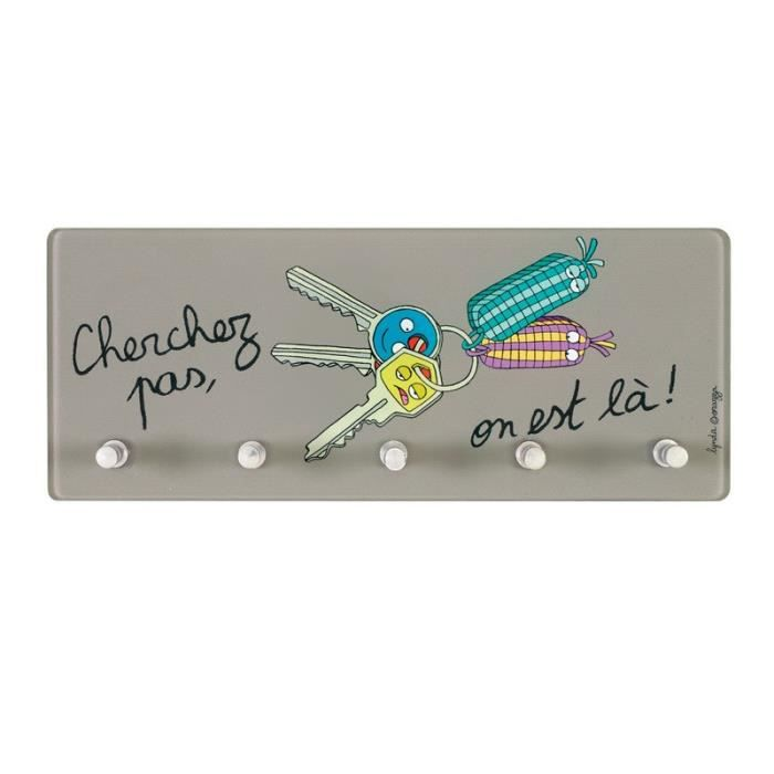 Accroche cl s desol cherchez pas derri re la porte achat for Decoration derriere la porte