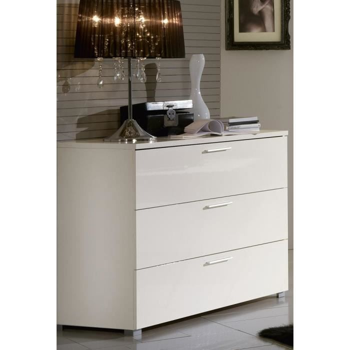 Commode laque blanc ikea Commode blanc laque