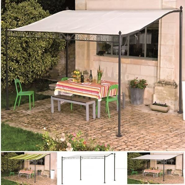 auvent pergola pour terasse pm 3 x 2 5 m achat vente pergola auvent pergola pour terasse. Black Bedroom Furniture Sets. Home Design Ideas