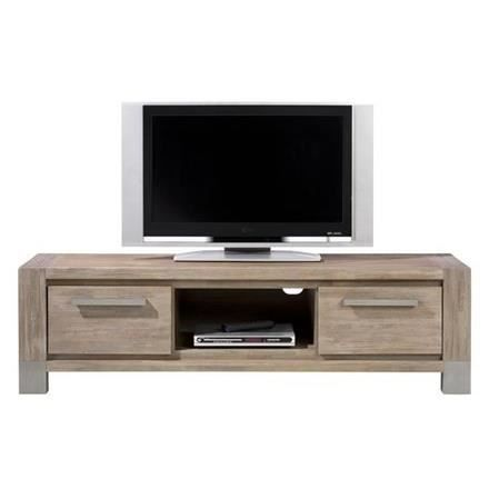 meuble tv 160 cm acacia massif kodiak h h achat vente meuble tv meuble tv 160 cm acacia mas. Black Bedroom Furniture Sets. Home Design Ideas