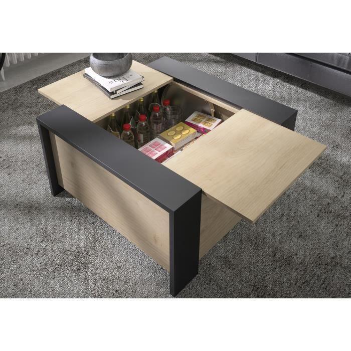 TABLE BASSE AURORA Table basse bar- Style urbain - Décor chata