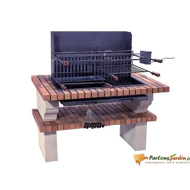 barbecue en pierre de sireuil caraibes achat vente barbecue barbecue en pierre de sireu. Black Bedroom Furniture Sets. Home Design Ideas
