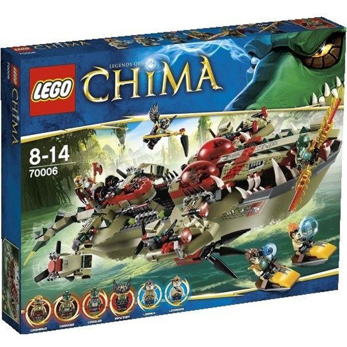 Photo de lego-chima-le-croc-navire-cragger-70006