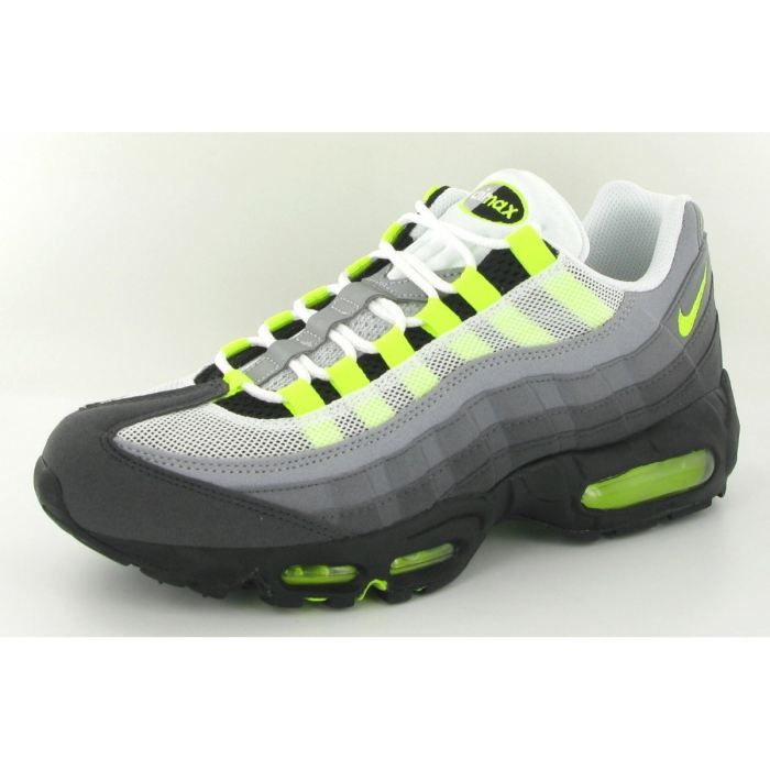 Chaussures Nike Air Max 95 Original Gris Gris - Cdiscount Chaussures