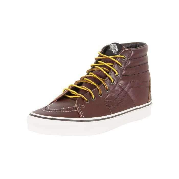 Vans Homme Sk8-Hi Ground Breaker Trainers, Marron