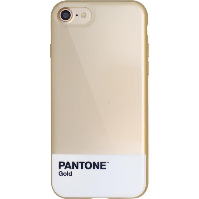 PANTONE coque pour Iphone 7 - Métal Doré