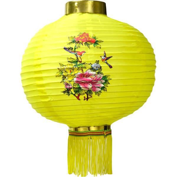 Lanterne chinoise decoree 20 cm nouvel an chinois achat for Decoration nouvel an chinois