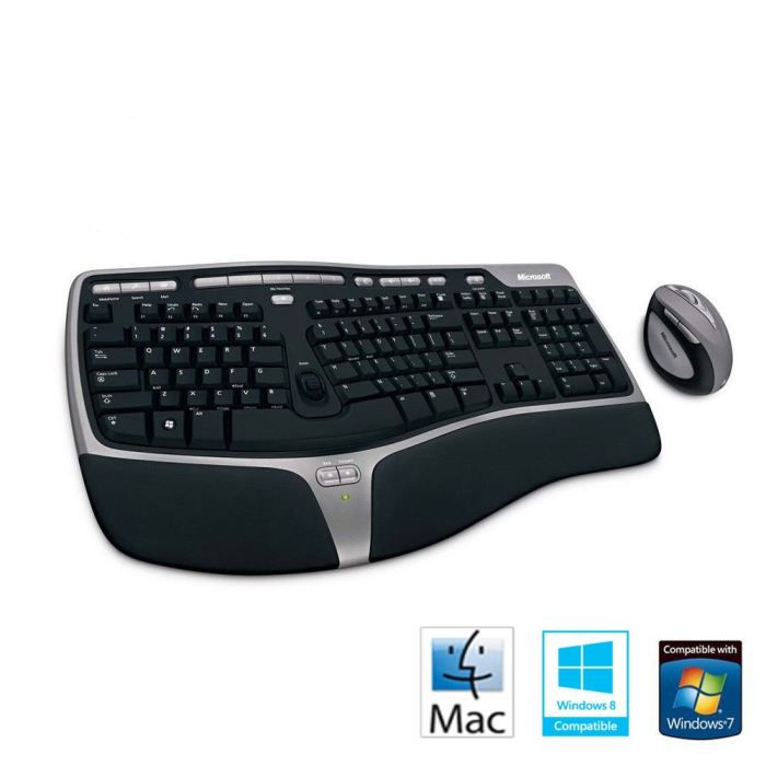 microsoft clavier natural ergonomic desktop 7000 achat. Black Bedroom Furniture Sets. Home Design Ideas