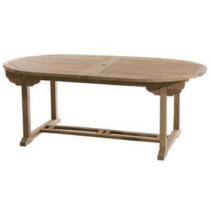 Table de jardin Ovale - Achat / Vente Table de jardin Ovale ...