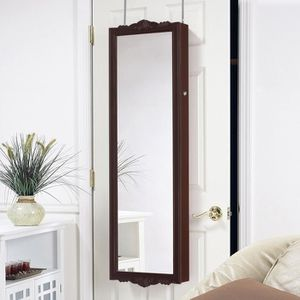 miroir porte bijoux mural achat vente pas cher. Black Bedroom Furniture Sets. Home Design Ideas