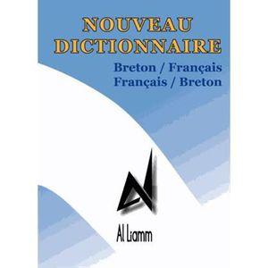 LIVRE LANGUES RARES Nouveau dictionnaire breton-français, français-bre